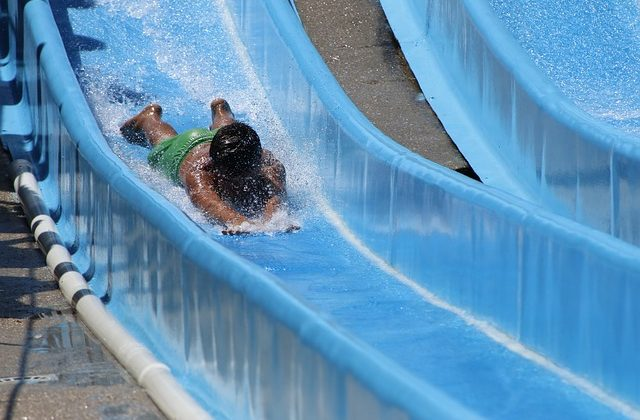 A banzai water slide is the best way to keep your kids occupied this summer